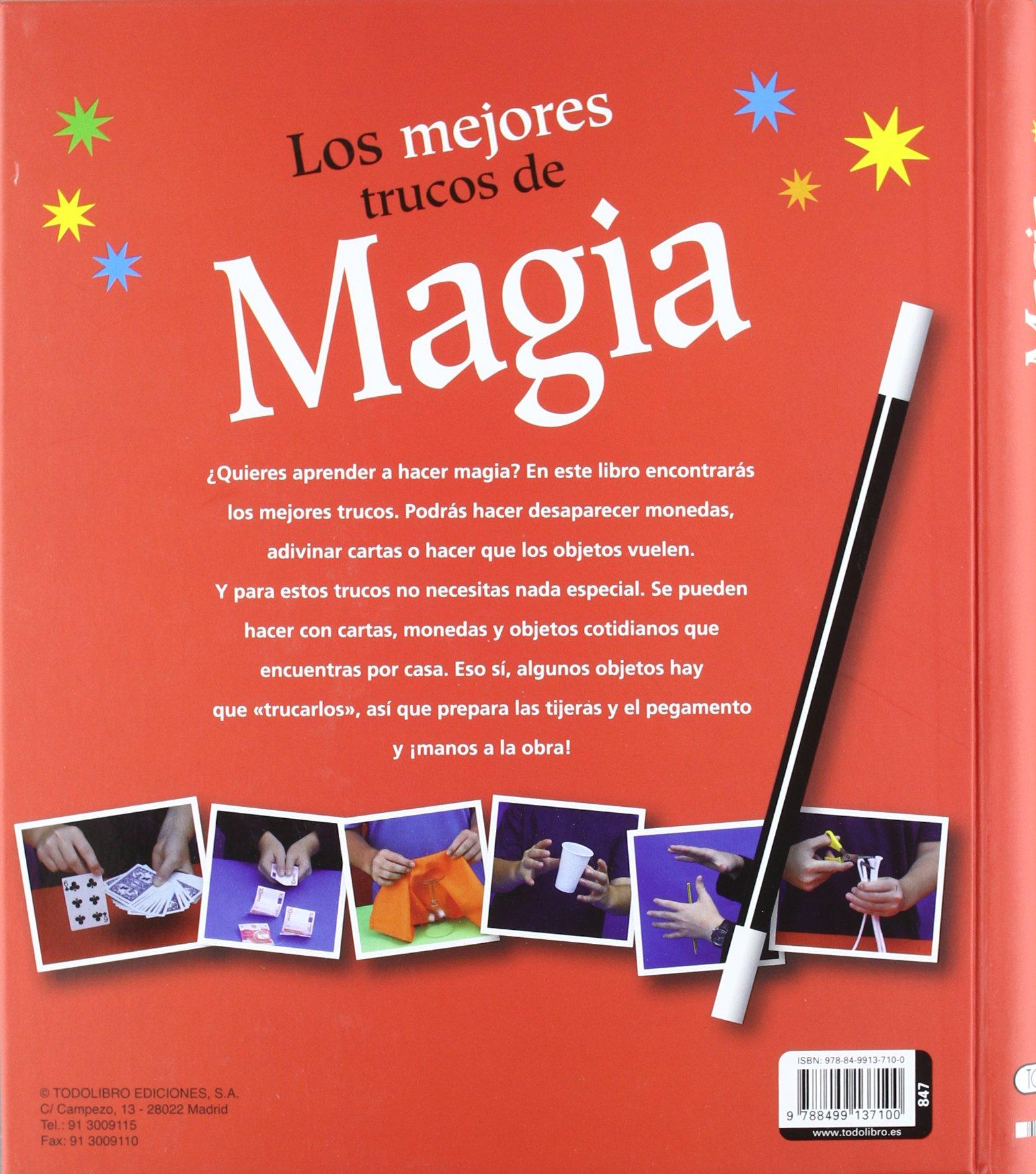Los mejores trucos de magia (Spanish Edition): Inc. Susaeta ...