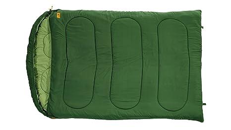 Easy Camp enschlafsack Moon Doppelt - Saco de Dormir Rectangular para Acampada, Talla 52