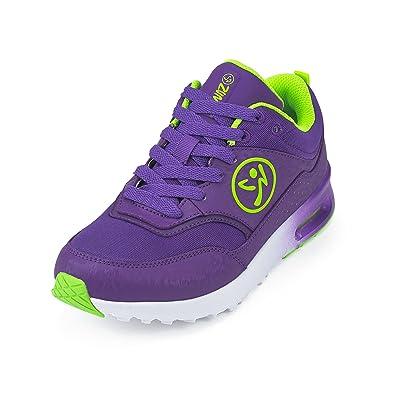 Zumba Footwear Damen Zumba Air Classic Fitnessschuhe, Blau (Purple), 38.5 EU