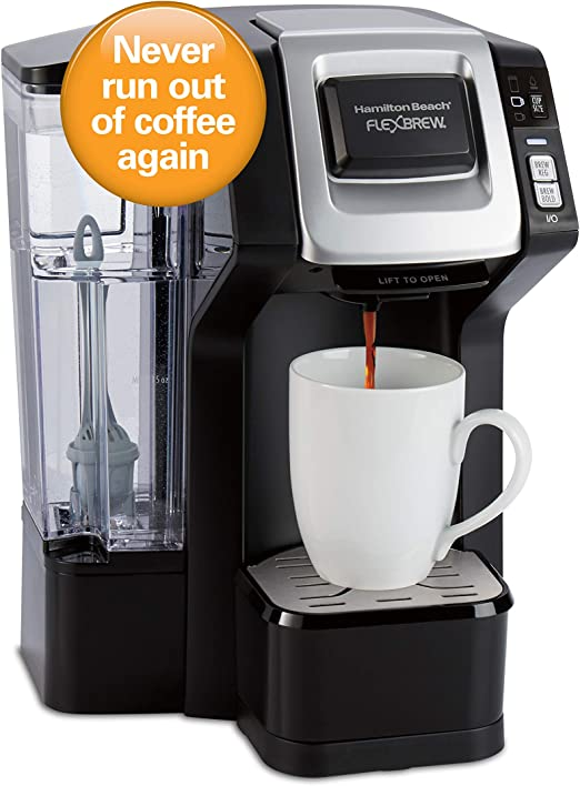 Hamilton Beach 49968 FlexBrew Connected Single Serve Cup Coffee Maker with Dash