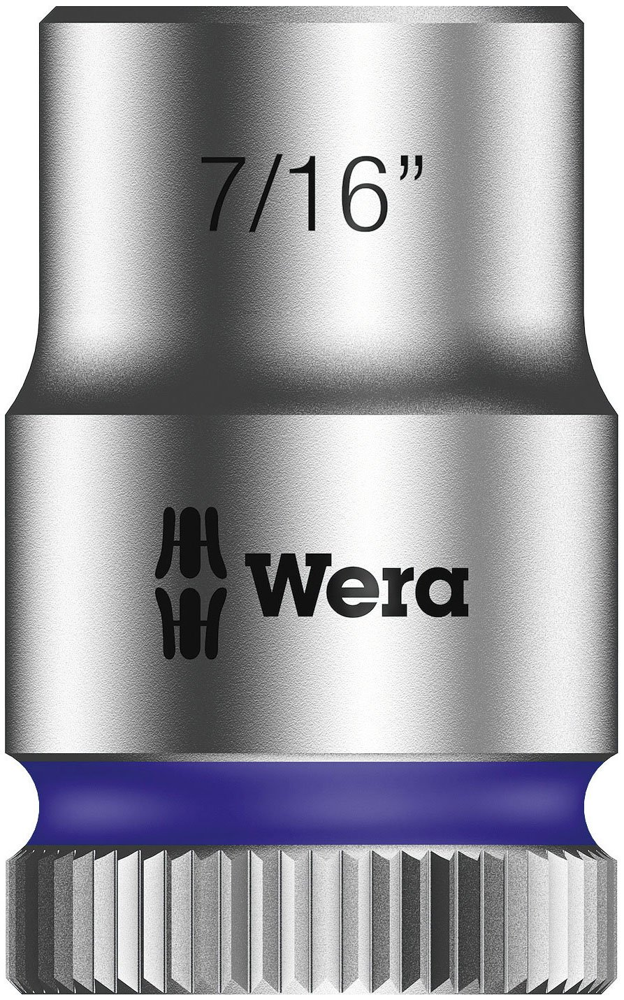 Wera Zyklop 8790 HMB 3/8-Inch Socket, Hex Head 22mm x Length 29mm Wera Tools 05003567001