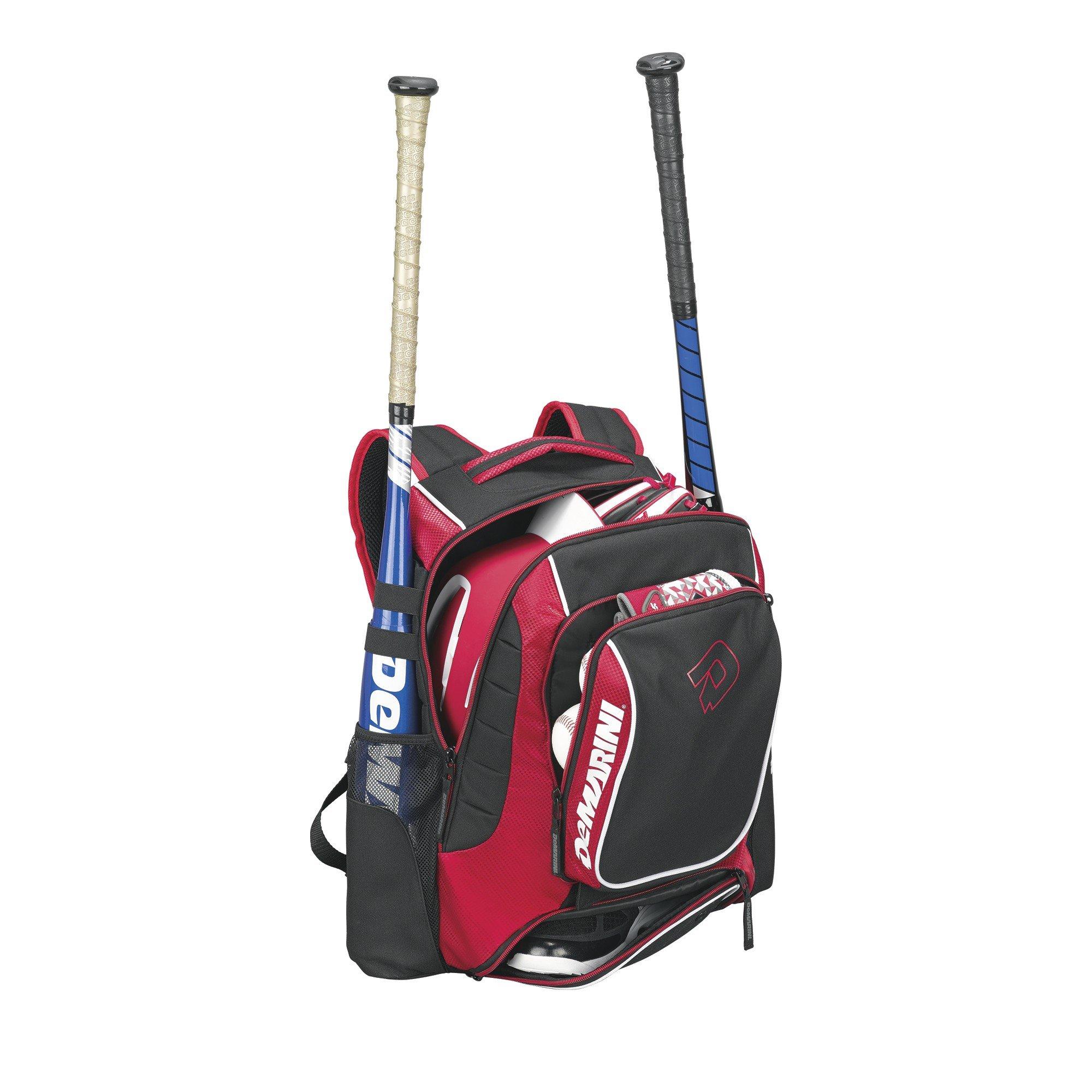 DeMarini WTD9407SC Momentum Backpack, Scarlet by DeMarini (Image #2)