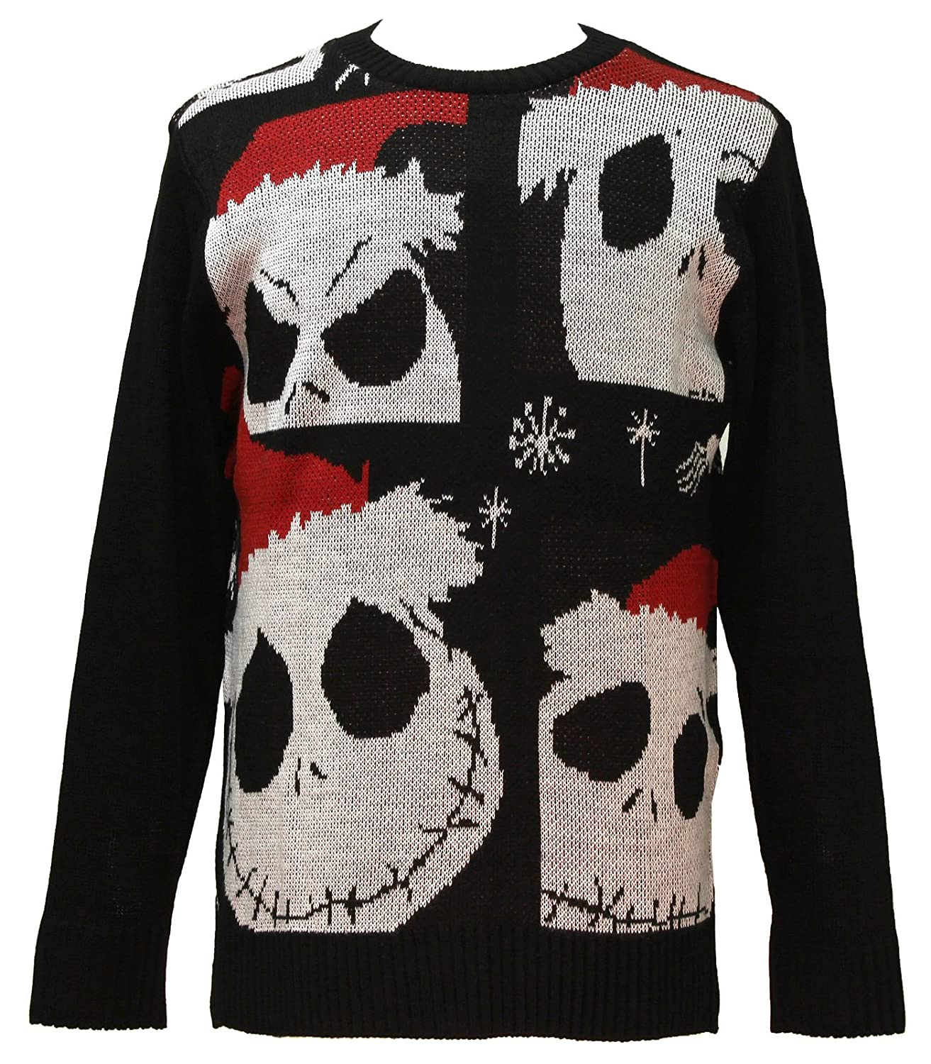 Amazon.com: Disney Nightmare Before Christmas Sweater Jack ...