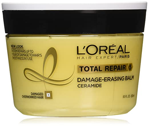 L'Oréal Paris Hair Expert Total Repair 5 Damage-Erasing Balm, 8.5 oz. (Packaging May Vary)