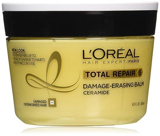 L'Oréal Paris Hair Expert Total Repair 5 Damage-Erasing Balm, 8.5 oz. (Packaging May Vary)