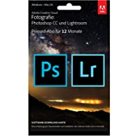 Adobe Creative Cloud Foto-Abo mit 20GB: Photoshop CC und Lightroom CC | 1 Jahreslizenz | PC/Mac | Key Card & Download