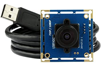ELP USB with Camera 2 1mm Lens 1080p Hd Free Driver USB Camera Module,2 0  Megapixel(1080p) USB Camera,for Linux Windows Android Mac Os