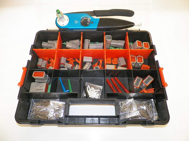 50 Deutsch DT #16 Solid Contact Terminals male pins for 16-18-20 gauge wire