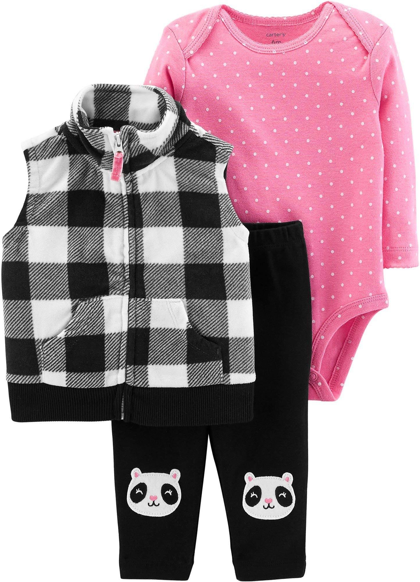 Carter's Baby Girls' Vest Sets 121g802