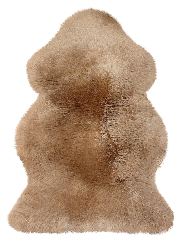 Heitmann australisches Lammfell 100 x 68 cm, Farbe Camel