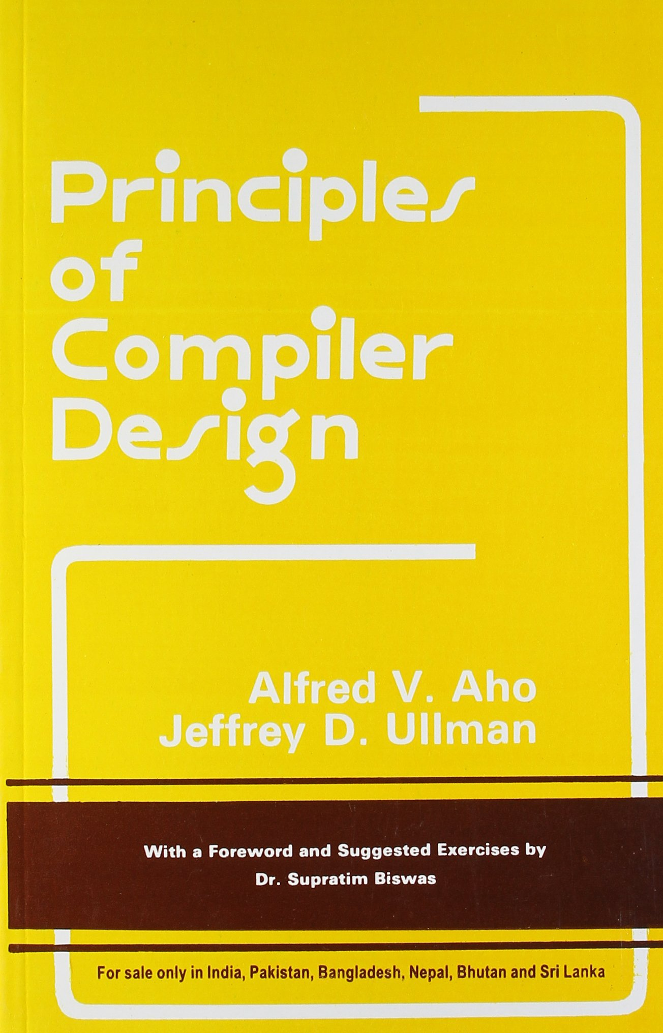 Principles Of Compiler Design Book