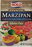 Solo Premium Marzipan (Gluten Free) 8 Oz - Pack of 2
