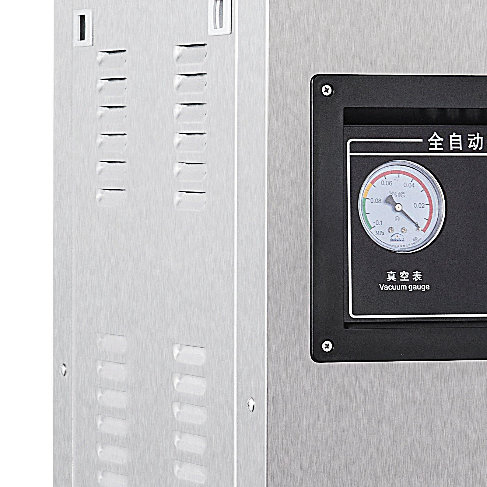 Happybuy DZ-400/2E Chamber Vacuum Sealer 1000W Vacuum Sealer Machine Automatic Vacuum Packing Sealing Sealer Machine for Home or Commercial Use (DZ-400/2E) by Happybuy (Image #7)