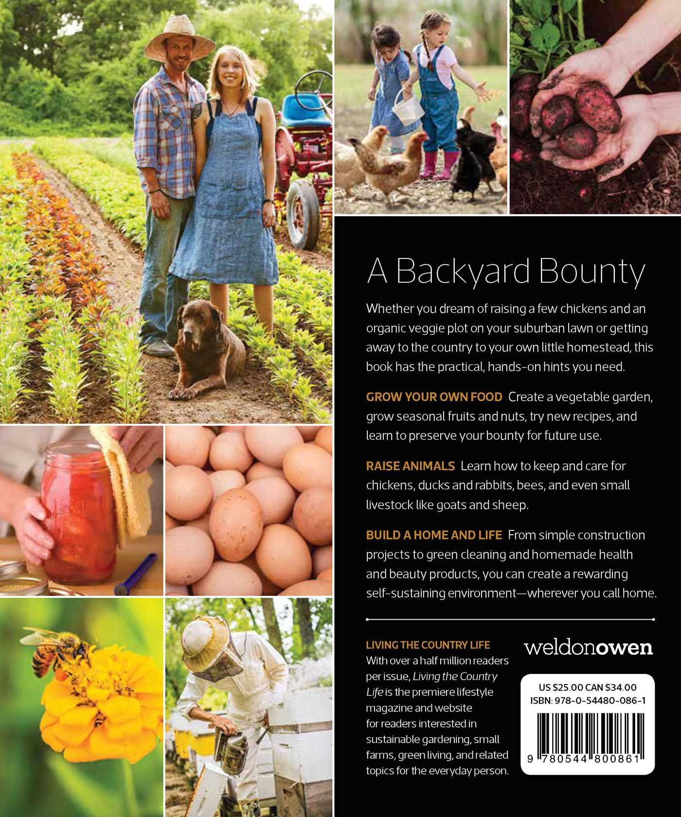 modern homesteading living the country life 9781681882338