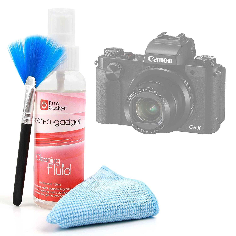 DURAGADGET Kit para Limpiar La Pantalla De Cámara Digital Canon ...