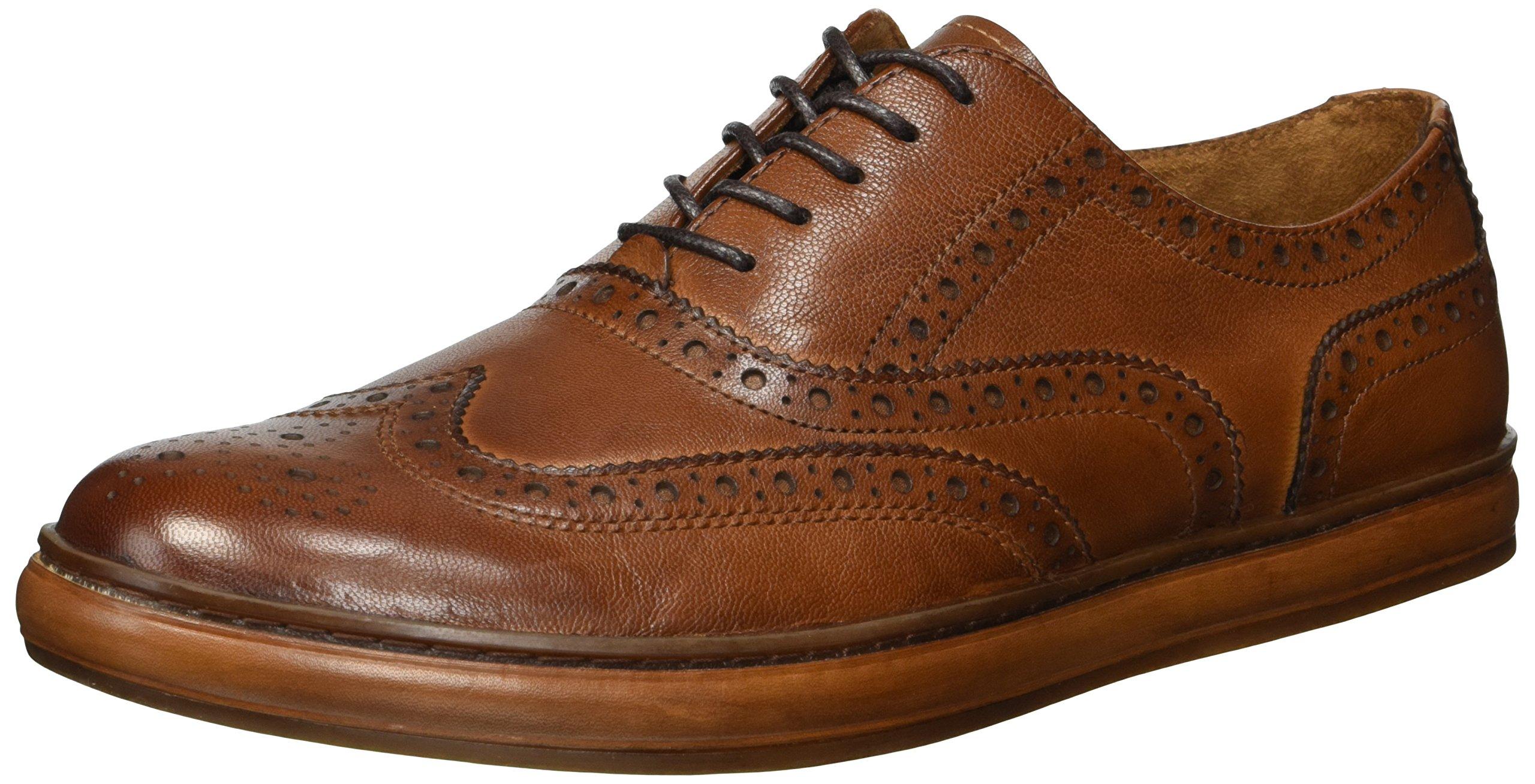 Kenneth Cole New York Men's Brand Sneaker D, Cognac, 8 M US