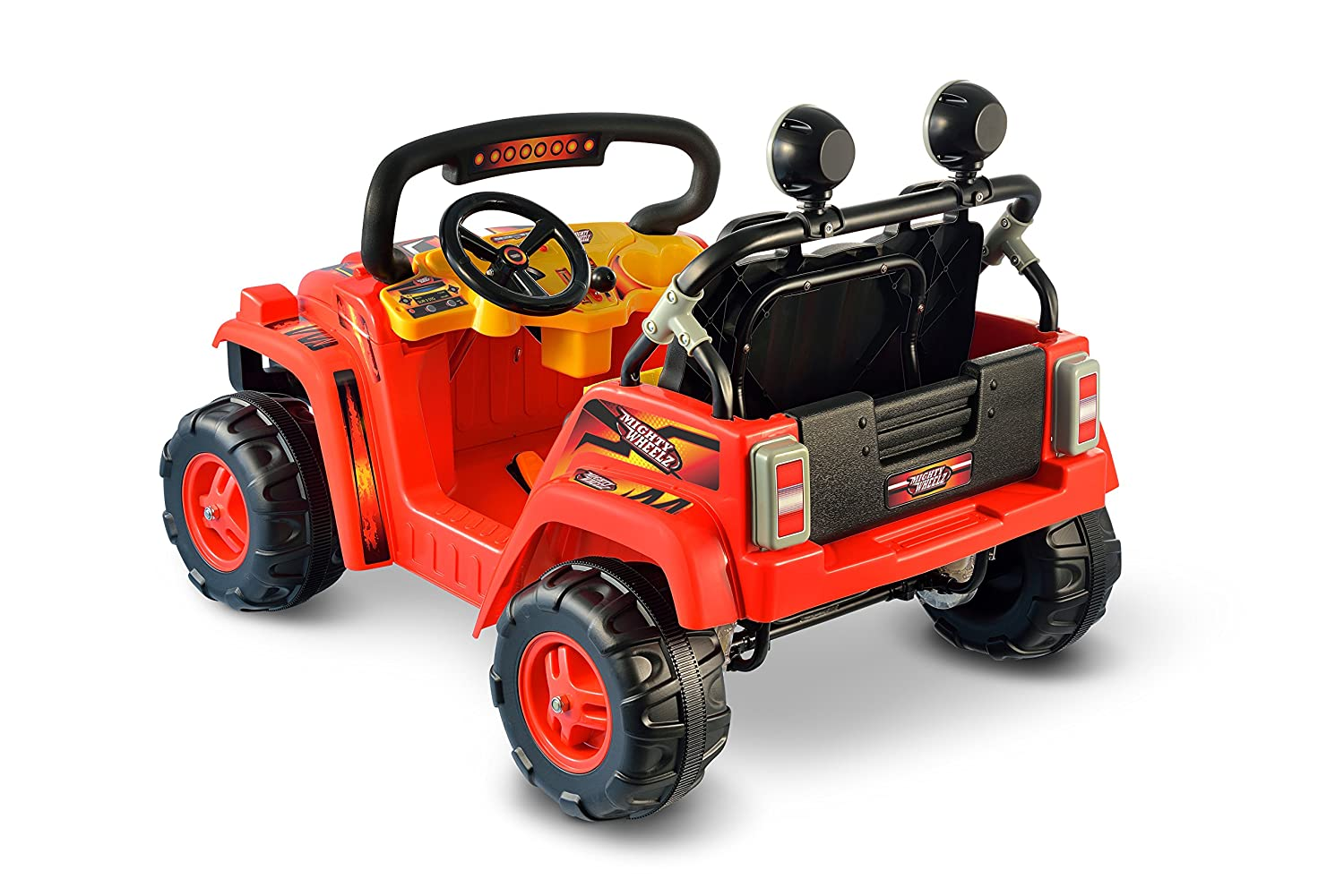 amazoncom national products 12v battery operated dual passenger 4 x 4 red toys games