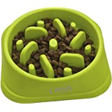 Zenify Dog Bowl Slow Feeder - Large 500ml Healthy Eating Pet Interactive Feeder with Anti-Skid Non-Slip Grip Base to…