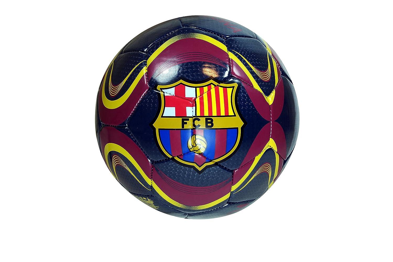 FC Barcelona Balón de fútbol - Away colores/Naranja - Tamaño 5 ...