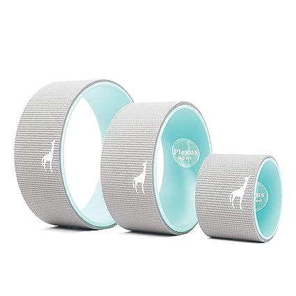 Plexus Yoga - Juego de 3 ruedas para práctica de yoga ...