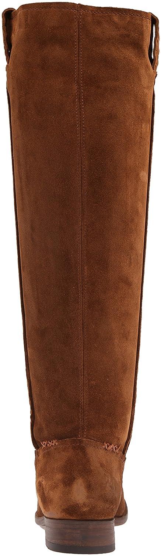 FRYE Women's Cara Tall Suede Slouch Boot B01AA8KSDU 6 B(M) US|Wood