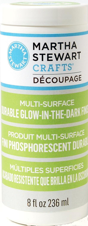 Martha Stewart Crafts Decoupage Formula (8-Ounce), 33289 Glow in The Dark Finish Plaid Inc