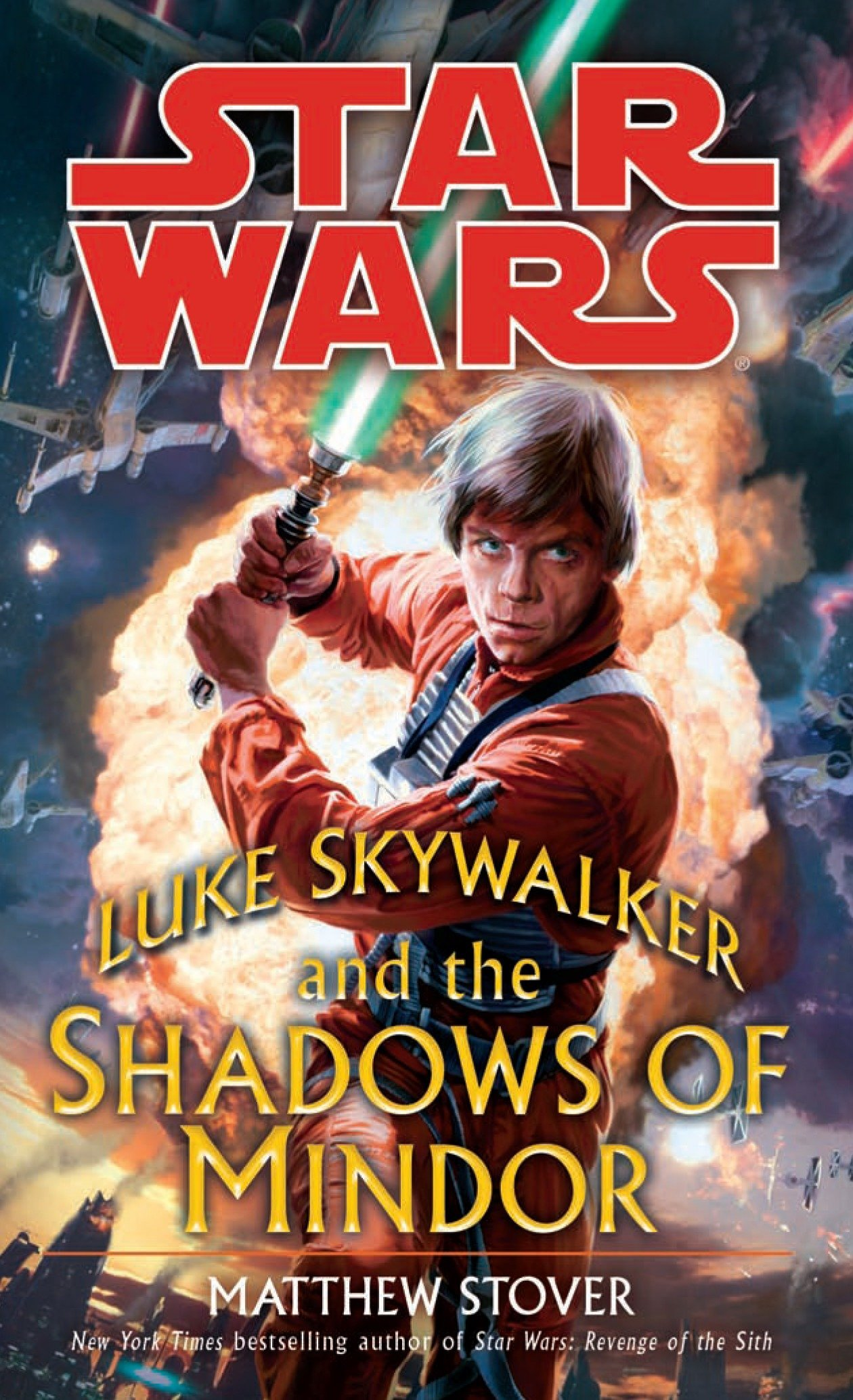 Amazon Com Luke Skywalker And The Shadows Of Mindor Star Wars Star Wars Legends 9780345477453 Matthew Stover Books