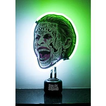 Nuit Lumière Officiel Comics Suicide Lampe Dc Fluo Squad Joker Cadeau Chambre FlKcT1J
