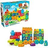 Mega Bloks ABC Learning Train Building Set Building Kit