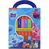 Nickelodeon Blue's Clues & You! - My First Library Board Book Block 12-Book Set - PI Kids