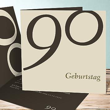 Geburtstagskarte Online Gestalten Meine Neunzig 100 Karten