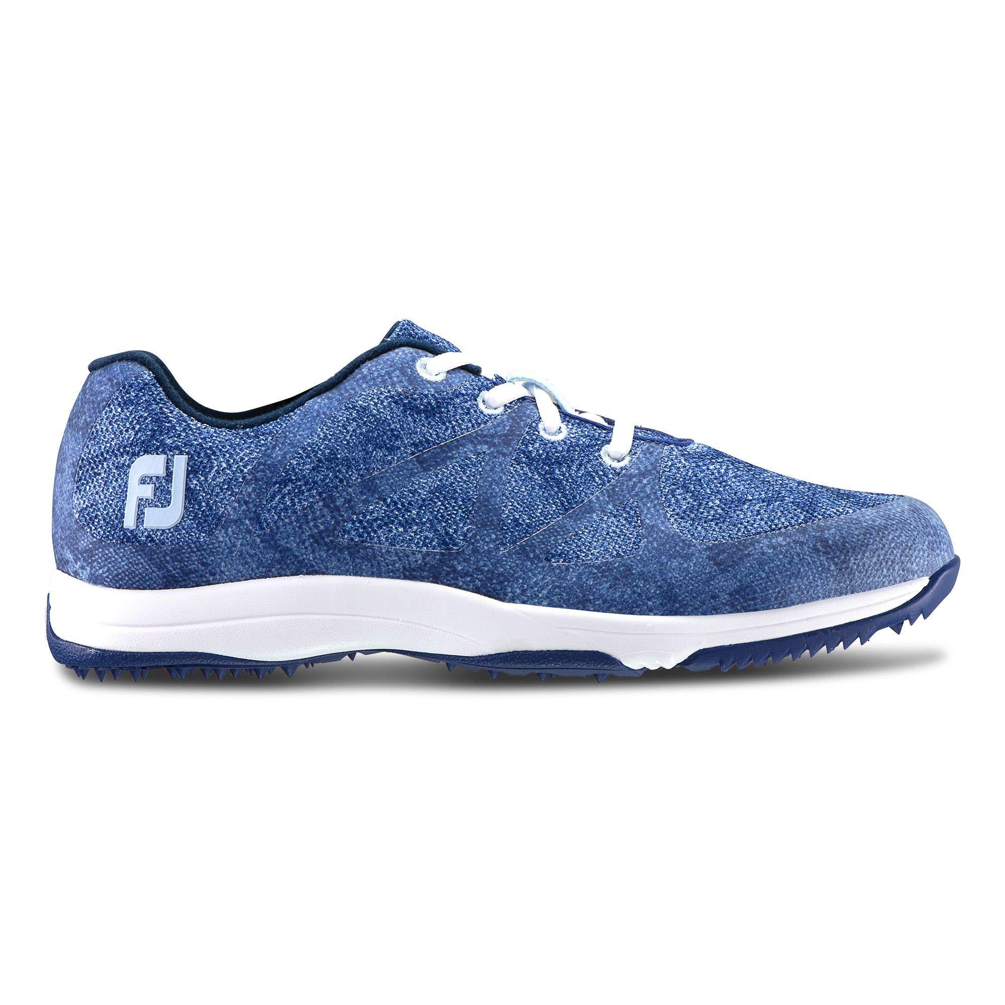 FootJoy Women's Leisure-Previous Season Style Golf Shoes Blue 5.5 M US