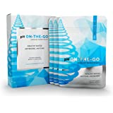 pH ON-THE-GO Alkaline Water Filter Pouch- Portable Alkaline Water Filtration System For Your Bottle, Pitcher, Jug, Container - High pH Ionized Water - Long-Life 16 Gallon/72 Litre (3-pack)