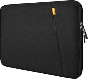 "JETech Laptop Sleeve Compatible for 13.3-Inch Notebook Tablet iPad Tab, Compatible with 13"" MacBook Pro and MacBook Air,Waterproof Shock Resistant Bag Case with Accessory Pocket, Black"