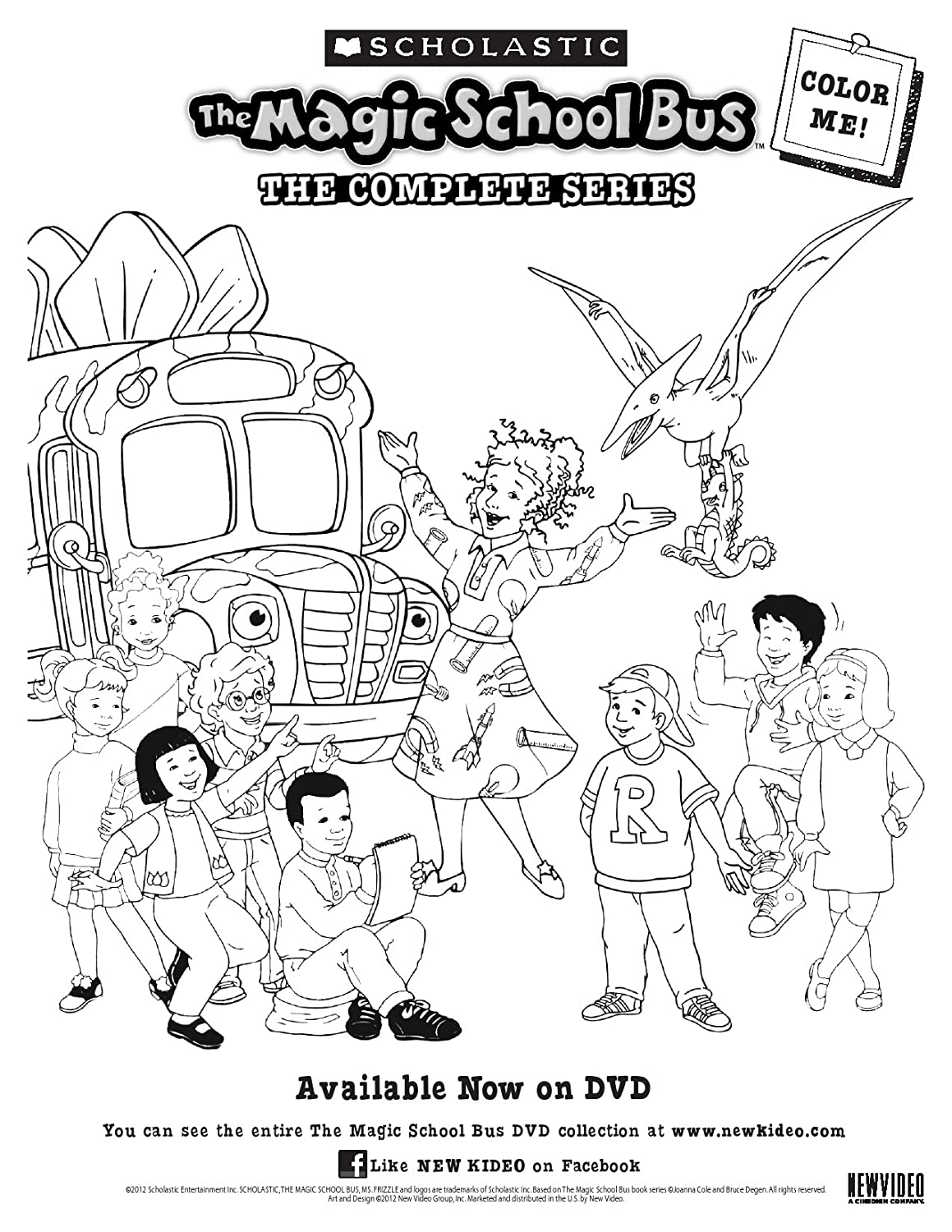 Magic school bus coloring pictures - Amazon Com The Magic School Bus The Complete Series Lily Tomlin Daniel Desanto Erica Luttrell Maia Filar Tara Meyer Larry Jacobs