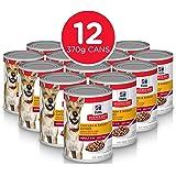 Hill's Science Diet Adult Chicken & Barley Entrée Canned Dog Food, 370g, 12 Pack