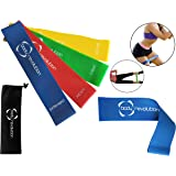 Body Revolution Resistance Bands Mini Resistance Loop Bands for Legs and Glutes – Strength and Stability Exercise for Men and Women - Singles or Full Resistance Bands Set Available