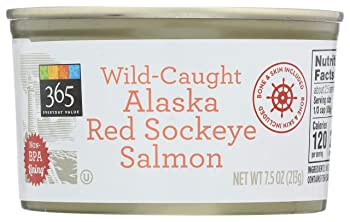 365 Everyday Value Alaskan Wild Canned Salmon