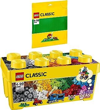 LEGO Classic 2 Piezas. Set 10696 10700 - Caja de Ladrillos (tamaño ...