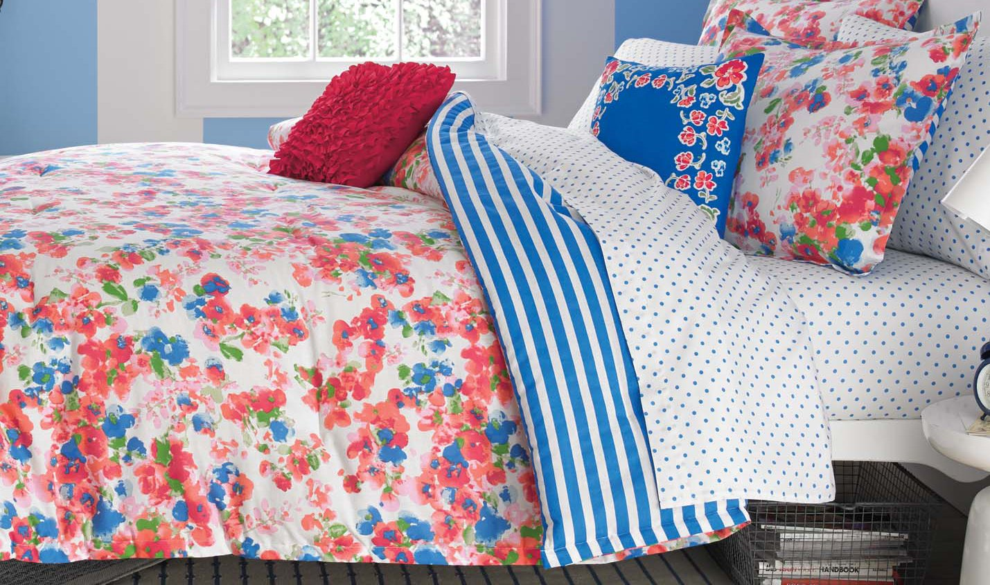 Teen Vogue Rose Posie Comforter Set, Full/Queen