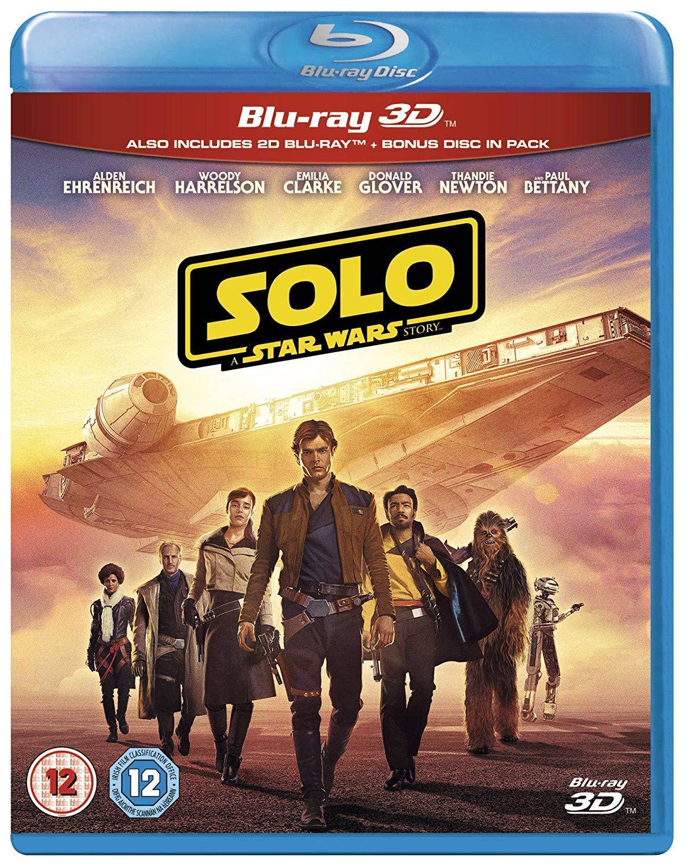 Solo: A Star Wars Story [Italia] [Blu-ray]: Amazon.es: Cine y Series TV