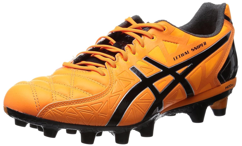 [アシックス] サッカースパイク LETHAL SNIPER 4 TSI226(旧モデル) B00P93J75W 24 2E フラッシュオレンジ/ブラック フラッシュオレンジ/ブラック 24 2E