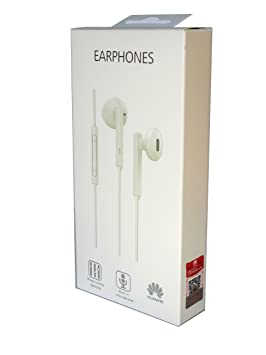 Auriculares Original Huawei AM115 para P7, P8, P9, P10, Lite, Plus, Honor, G7, G8, Mate, Blanco, Bulk