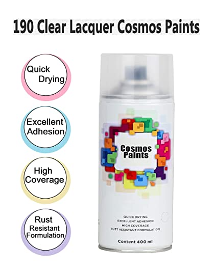 Cosmos Clear Lacquer Spray Paint-400ml