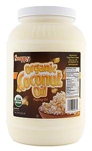 Snappy Pure Organic Coconut Oil, 1 Gallon