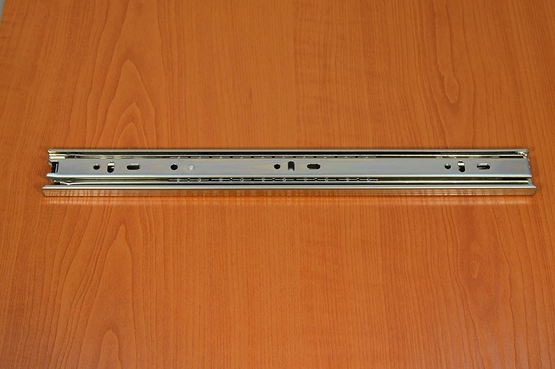 GTV 35 mm Vollauszug Vollausz/üge Teleskopschiene Schubladenschiene 45-89cm