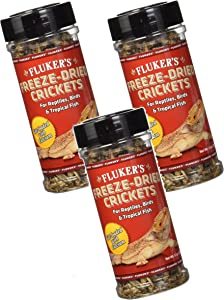 Fluker's 1.2-Ounce Freeze Dried Crickets (Pack of 3)