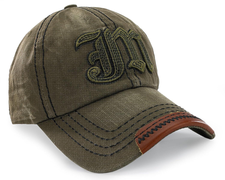 JM Star Gorra de béisbol unisex plana deportiva hip hop color negro