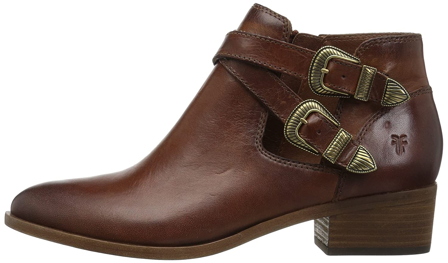 FRYE Womens Ray Western Shootie Ankle Boot