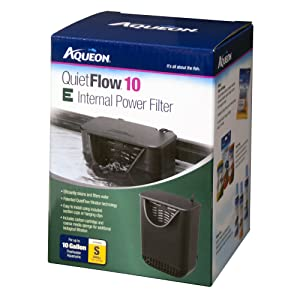 Aqueon Quietflow E Internal Power Filter – Best automatic internal filter